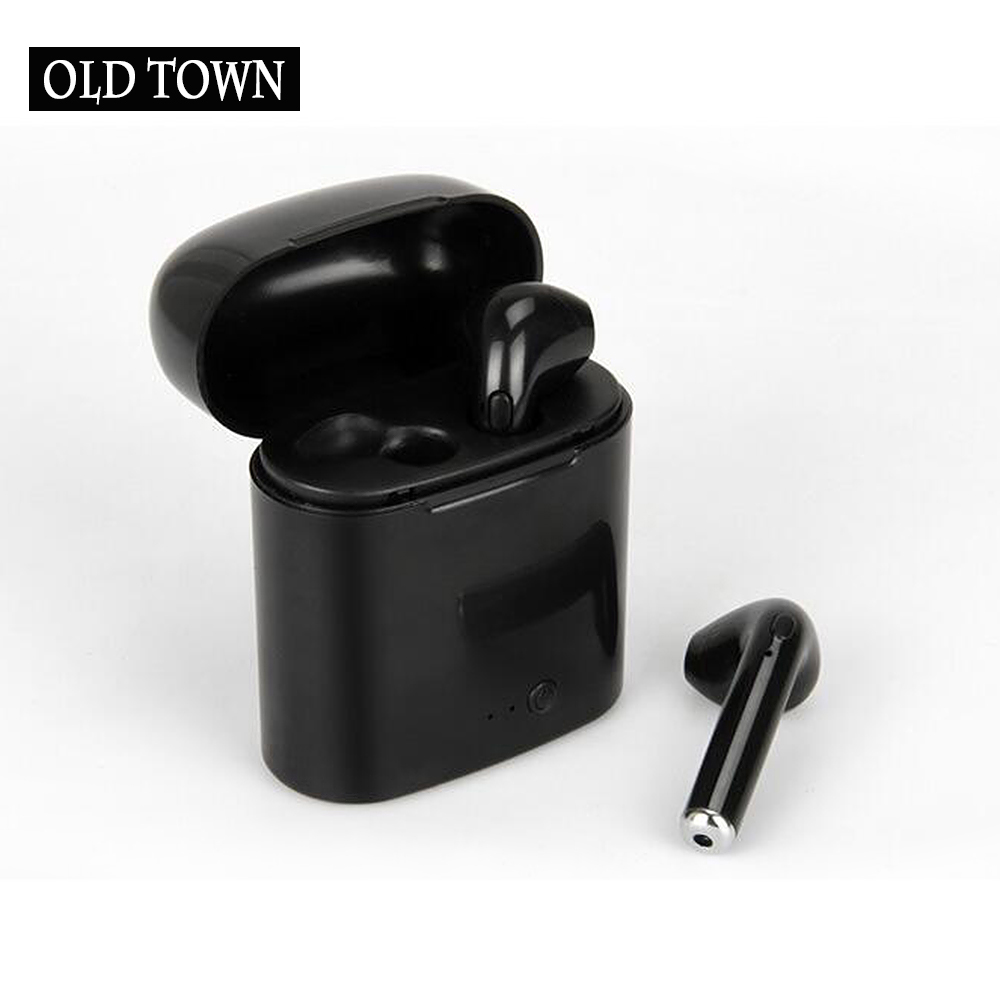 Bluetooth Earphones Wireless Earbuds I7 TWS Headset Double Twins Stereo Music for Apple IPhone 6 Samsung S8 S9 Android Xiaomi