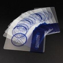 SANHOOII 10 шт. пластиковая карта для мобильного телефона, скребок для открывания, инструменты для ремонта(можно настроить визитную карточку