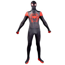 Spider-Man: Into the Spider-Verse Cosplay Costume Mask with Lense Miles Morales Drop shipping