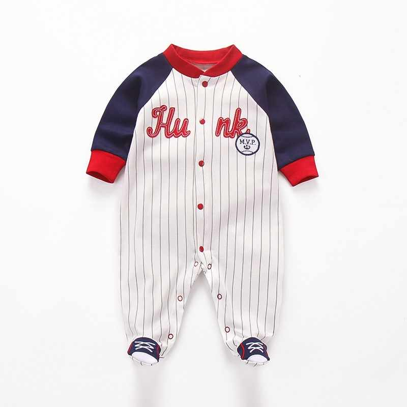 f9ebb1502 Detail Feedback Questions about Newborn Baby Rompers Stripe Long ...