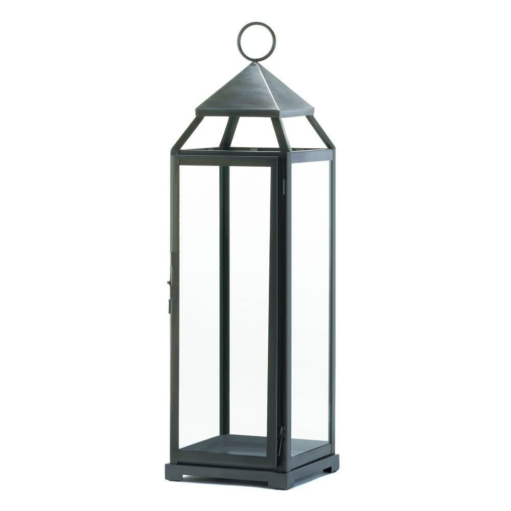 Brushed Silver Extra Tall Lantern цена 2017