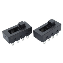 2pcs 12A 250V 3 Position 8 Pin Toggle Slide DIP Switch LQ-103H Hair Dryer Hot Cold Wind for JJ-15 Philips Flyco FH6218/20/21/31 10pcs 4p 4 position dip switch 2 54mm pitch 2 row 8 pin dip switch