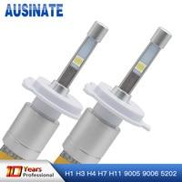 H7 LED H1 H3 H4 H11 H8 H9 9005/HB3 9006/HB4 5202 80W 9600LM Headlight 6000K Auto Front Bulb Headlamp Fog Lights Car lighting 12V