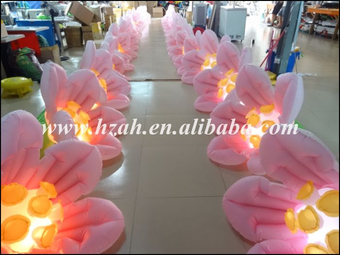 Hot Sale Inflatable Flower with LED Light for Wedding Decoration shot 300
