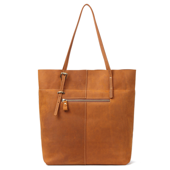 Women Genuine Leather Capacity Tote Bolsos Shoulder Bag Cowhide Ladies Casual Shopping Bag Feminina3013