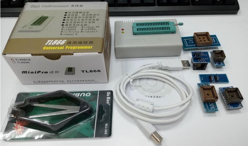 V7.21 XGECU TL866II Plus Programmer USB EPROM Nand FLASH BIOS EEPROM FLASH 8051 24 93 25 also have proman better than TL866A/CS