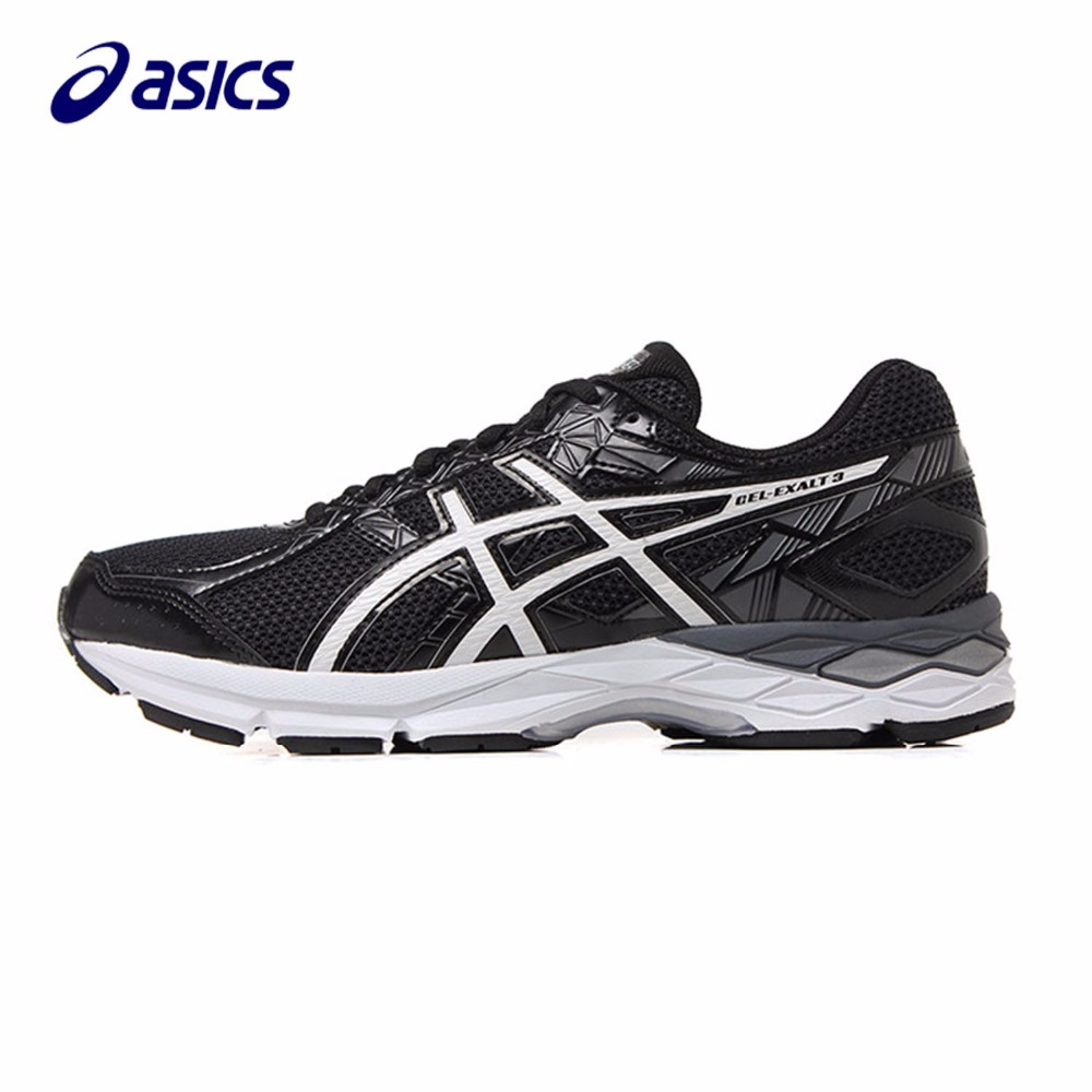 Original ASICS Men Shoes Stable Massage Cushion Running Shoes Breathable Sports Shoes Sneakers Men T616N-9001