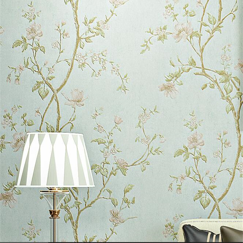beibehang rural pastoral flowers mural wallpaper for walls 3 d wallpaper for living room bedroom sofa tv backgroumd wall paper beibehang embossed american pastoral flowers wallpaper roll floral non woven wall paper wallpaper for walls 3 d living room