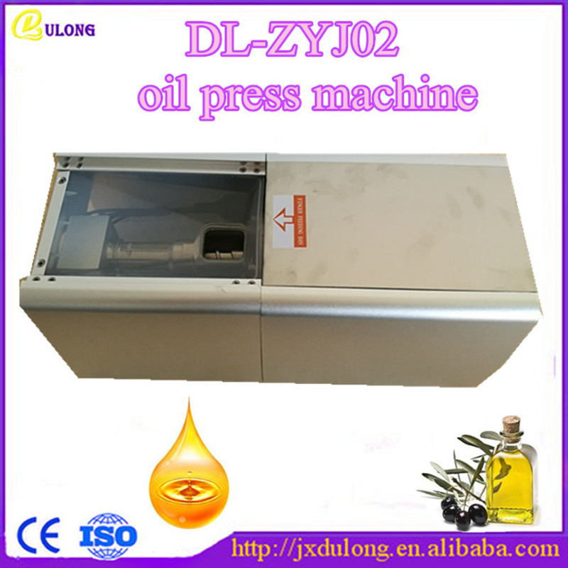 цены  Free shipping cold press oil extraction machine/mini oil press machine with high quality DL-ZYJ02