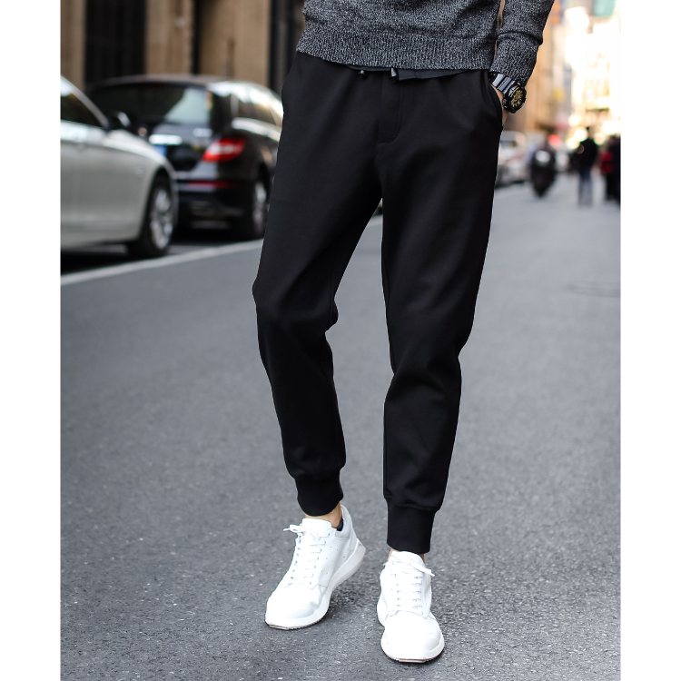 Aliexpress.com  Buy 2015 European Fashion Mens Jogger Pants Drawstring Winter Thickening Sports ...