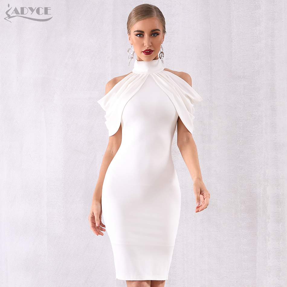 Image 3 - Adyce 2020 New Summer Celebrity Evening Party Dress Women Elegant