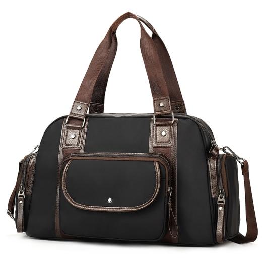 Handbag Men's Large Capacity Luggage Bag Travel Travel Short-distance Travel Sports Dry and Wet Separation Fitness Bag все цены