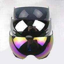Originale LS2 OF562 moto casco lente supplementare argento nero colorato sostituire visiera visiera solo vestito per LS2 OF562 caschi