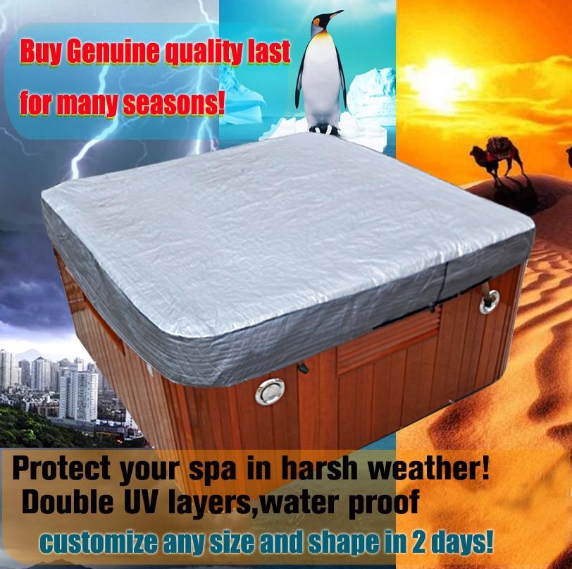 free shipping hot tub cover cap prevent snow, rain&dust ...