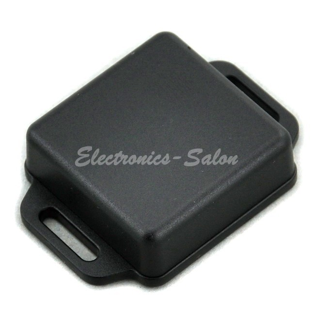 Small Wall-mounting Plastic Enclosure Box Case, Black,41x41x15mm, HIGH QUALITY.