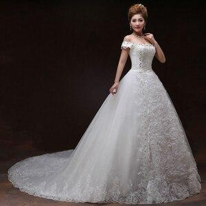 Image 4 - Vestido De novia De encaje con Espalda descubierta, encaje