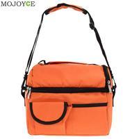 8L Square Thermal Bag Women Men Lunch Bag Cooler Beam Port Lunch Box Lady Handbag Children