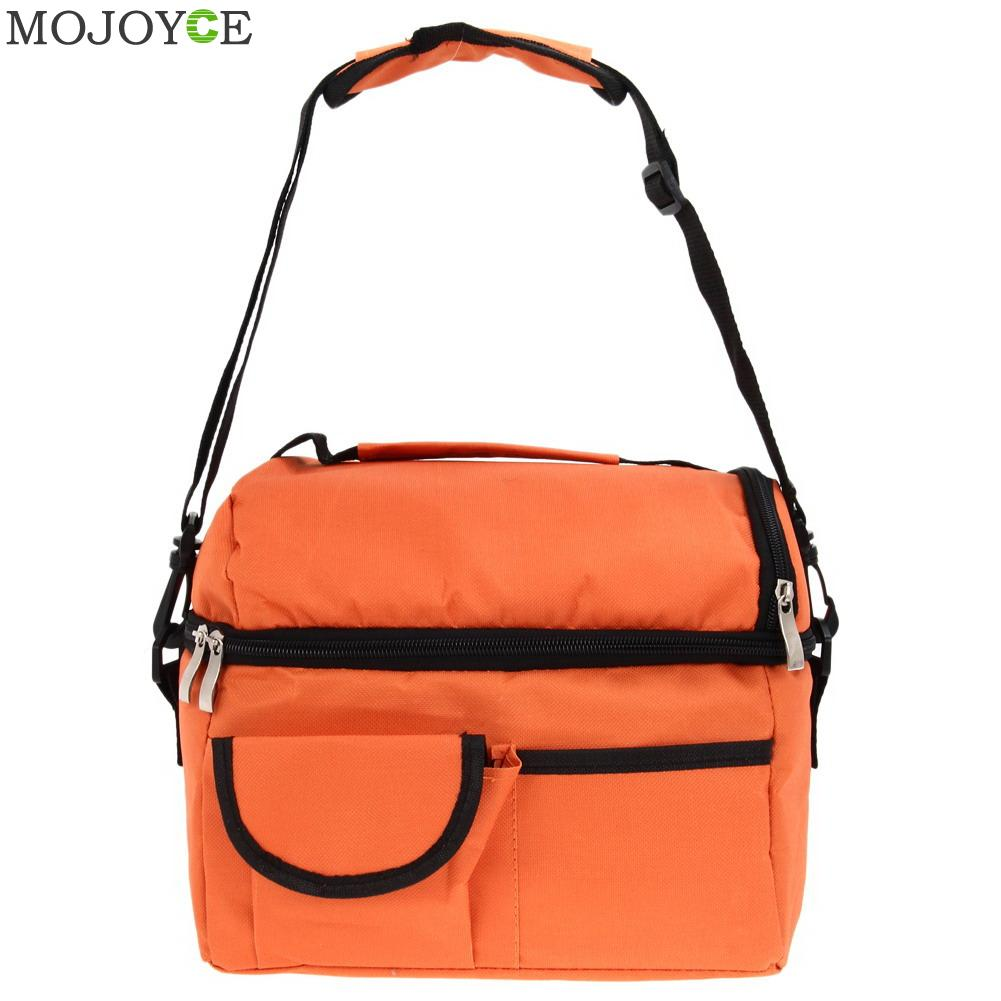 8L Square Thermal Bag Women Men Lunch Bag Cooler Beam Port Lunch Box Lady Handbag Children Kids Lunch Bags Insulation Package 8l portable peva lunch bag shawls picnic box thermos package bolso cooler insulated cool bags can cooler bolso frio ice package