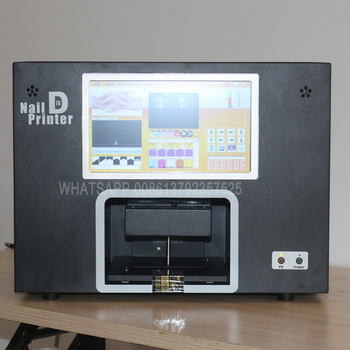 hand and artificial nails printing machine with touch screen and computer inside 2020 new updated