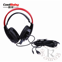 DHL Professional USB Wired Gamer Headphone Ear Gaming Headset Surround Sound Headphone For PS4 Slim Pro XboxONE S PC