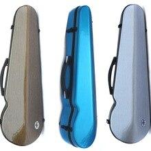 Yinfente чехол для скрипки из углеродного волокна, 4/4, крепкая коробка для скрипки, серый, синий цвет, светильник для девочки
