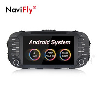 Navifly Android 8.1 Car Multimedia dvd radio For Kia Soul 2014 2015 2016 2017 video Player Car Stereo Audio Wifi BT HD 1024*600