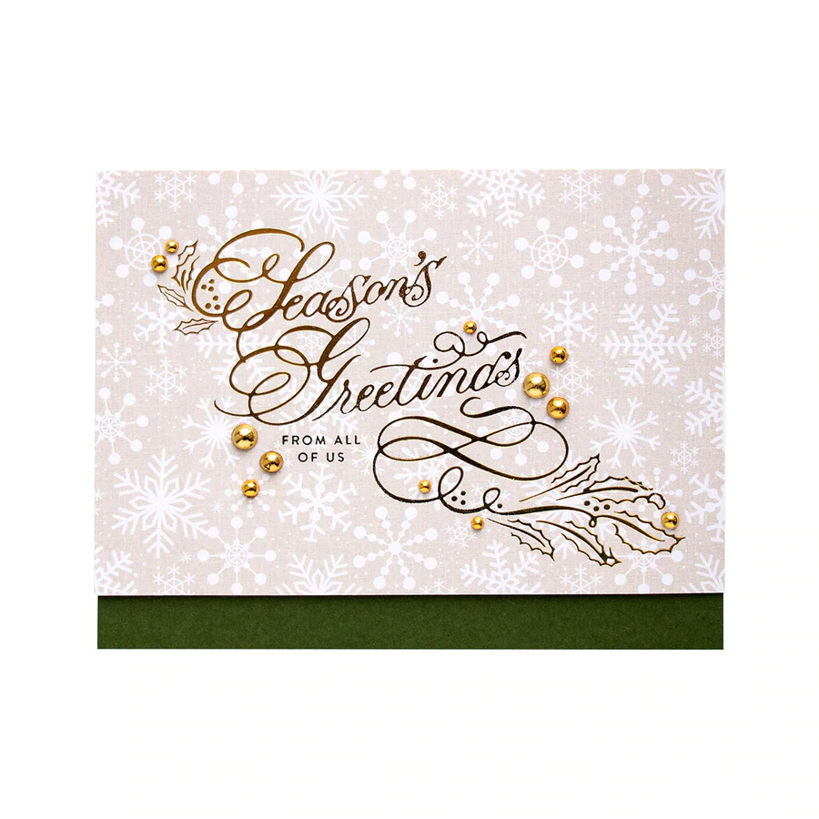 GLP-078-Glimmer-Holiday-2019-Paul-Antonio-Copperplate-Script-Seasons-Greetings-Hot-Foil-Plate-project__45767.1559691108
