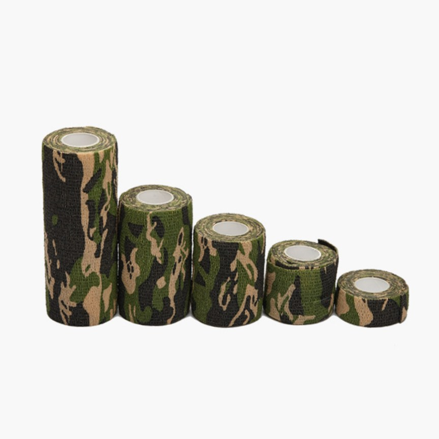 2.5cm-15cm Camping Camo Outdoor Hunting Shooting Tool Camouflage Stealth Tape Waterproof Wrap Durable Army  Outdoor Tool2.5cm-15cm Camping Camo Outdoor Hunting Shooting Tool Camouflage Stealth Tape Waterproof Wrap Durable Army  Outdoor Tool