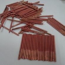M3* 30*50 медь нарезание резьбы электроды для Spark EDM без отверстия