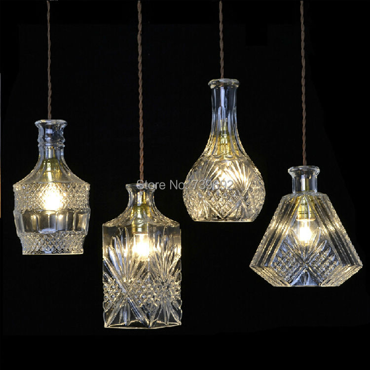 Free shipping fashion metal beer bottle e27 holder decoration lamps free shipping fashion metal beer bottle e27 holder decoration lamps bar lights decor crystal glass pendant light farol de metal in pendant lights from mozeypictures Image collections