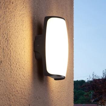 Outdoor corridor balcony aisle waterproof wall lamp modern courtyard terrace lamp gate wall lamp LW527600PY
