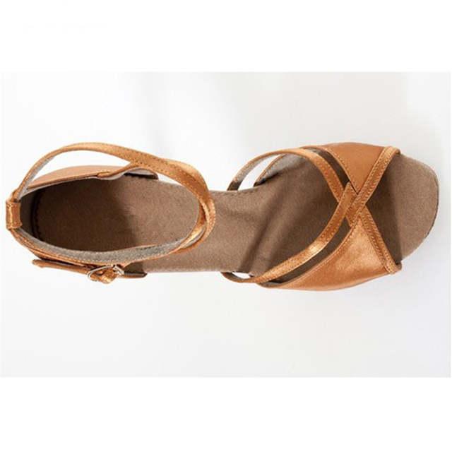 dcc2c5c17c15 Black Velvet Brown Satin Ballroom Dancing Shoes Women s Dance Shoes High  Heeled Dance Shoes Latin Shoes