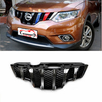 CITYCARAUTO TOP QUALITY FRONT MASK RACING GRILLEGRILLS FIT FOR NISSAN X TRAIL XTRAIL T32 2014 2018 FRONT GRILL ACCESSORIES 2017