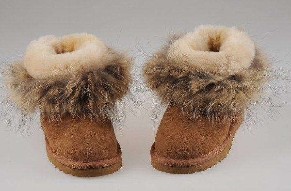 New design fox fur men boots 5854, the Thanksgiving Day & Christmas gifts, Glamour Wedge Ankle Boots, fast shipping
