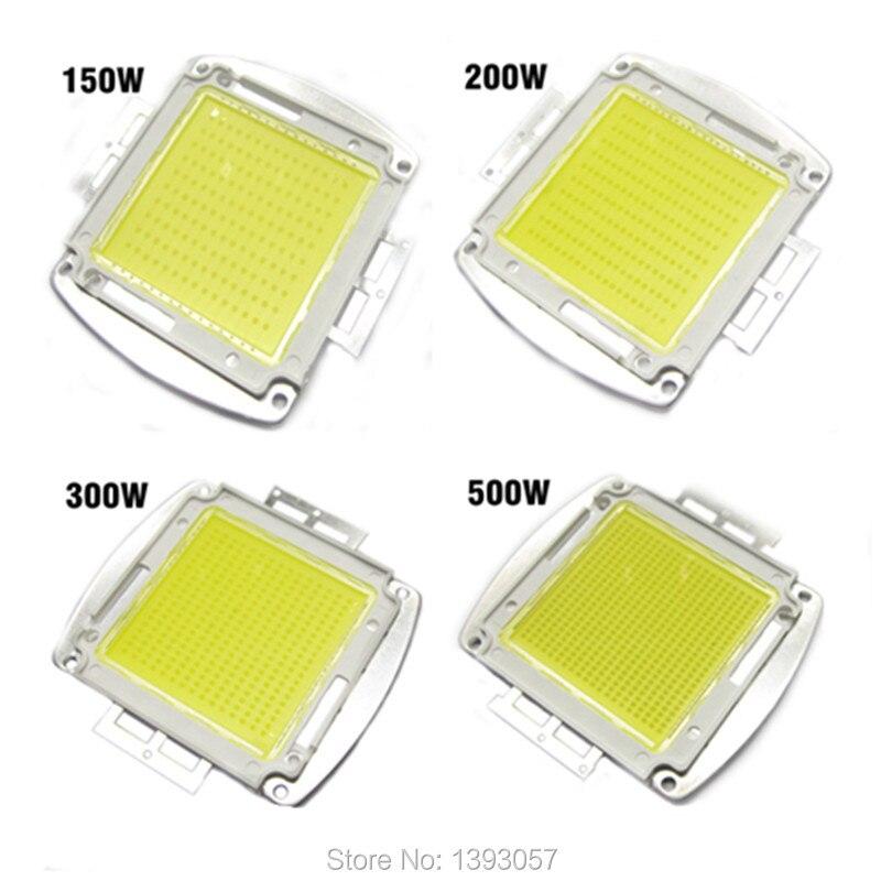 Haute Puissance puce LED 150 W 200 W 300 W 500 W Natural Cool Blanc Chaud SMD LED COB Ampoule 150 200 300 500 W Watt