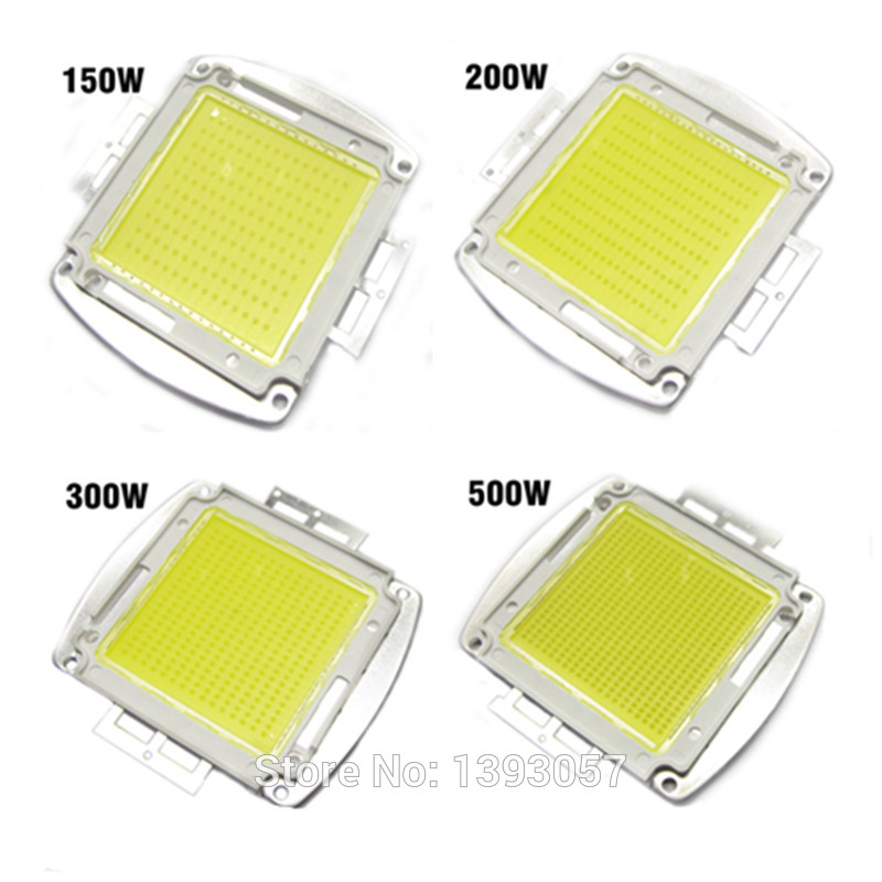 все цены на High Power LED Chip 150W 200W 300W 500W Natural Cool Warm White SMD LED COB Bulb Light 150 200 300 500 W Watt онлайн