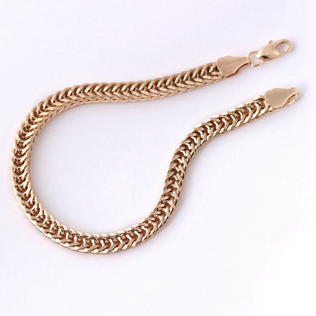 5MM/6MM Snake Bracelet Gold...