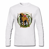 Rhodesian Ridgeback Dog Male Hip Hop T Shirts Men S Long Sleeve Tshirt Teenage O Neck