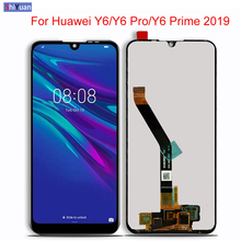 купить 6.09 inch LCD For HUAWEI Y6 Prime Y6 PRO 2019 Version LCD Display+Touch Screen Digitizer Assembly Lcd Replace+Tools по цене 2050.98 рублей