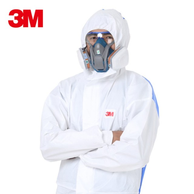 3M 4535 Safety Clothing protective clothing Siamese With a hat Safety workwear dust-proof anti-static Splashing paint protection