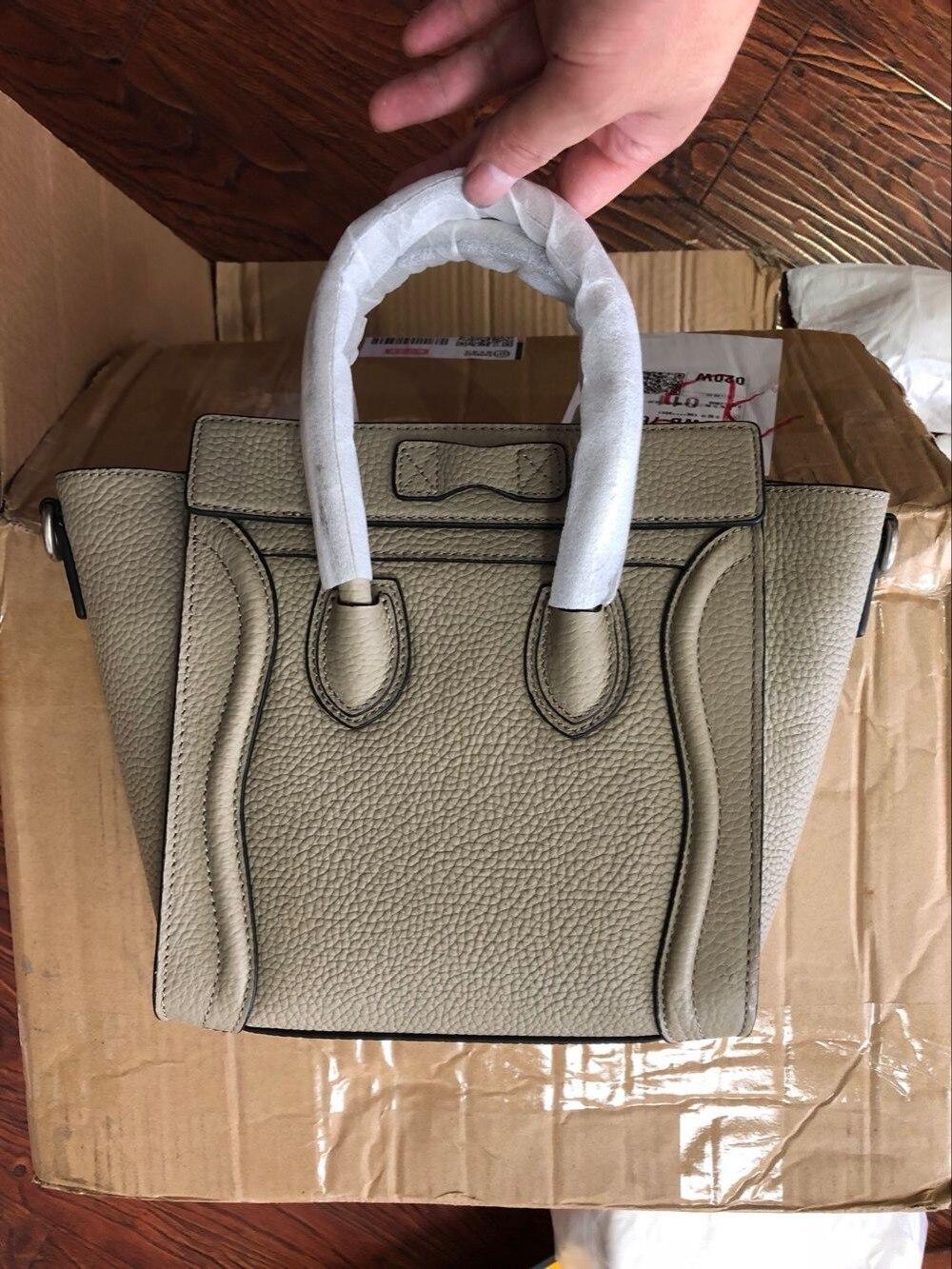 Women togo leather casual big capacity smile face classic totes bolsas femininas top New Famous Designer Brand handbags sac женские блузки и рубашки brand new 2015 o blusas camisas femininas
