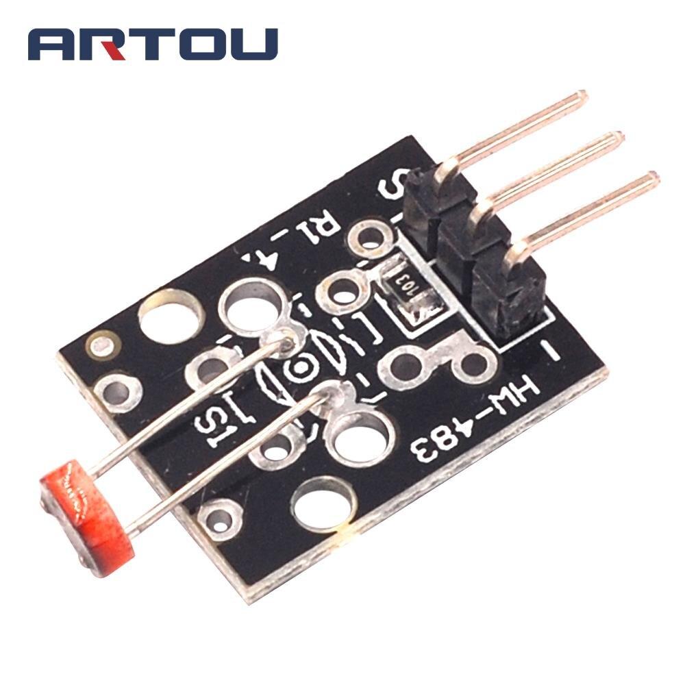 KY-018 3pin Optical Sensitive Resistance Light Detection Photosensitive Sensor Module for arduino DIY Kit KY018 electronic component