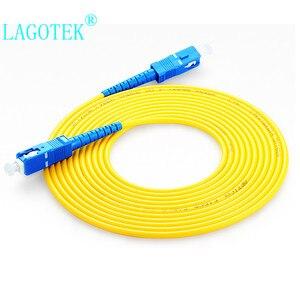 Image 2 - 10 Pcs SC UPC SC UPC Simplex 2.0 millimetri 3.0 millimetri PVC Singola Modalità di Fibra Patch Cavo di avviamento in fibra di patch cord in fibra optica FTTH 9/125