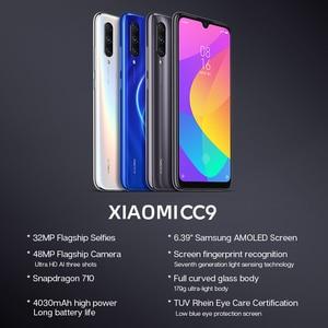 """Image 3 - Globale Rom Xiaomi CC 9 CC9 6 GB di RAM 128 GB di ROM Del Telefono Mobile Snapdragon 710 48MP Triple Macchina Fotografica 32MP anteriore Della Macchina Fotografica 6.39 """"Schermo Intero"""