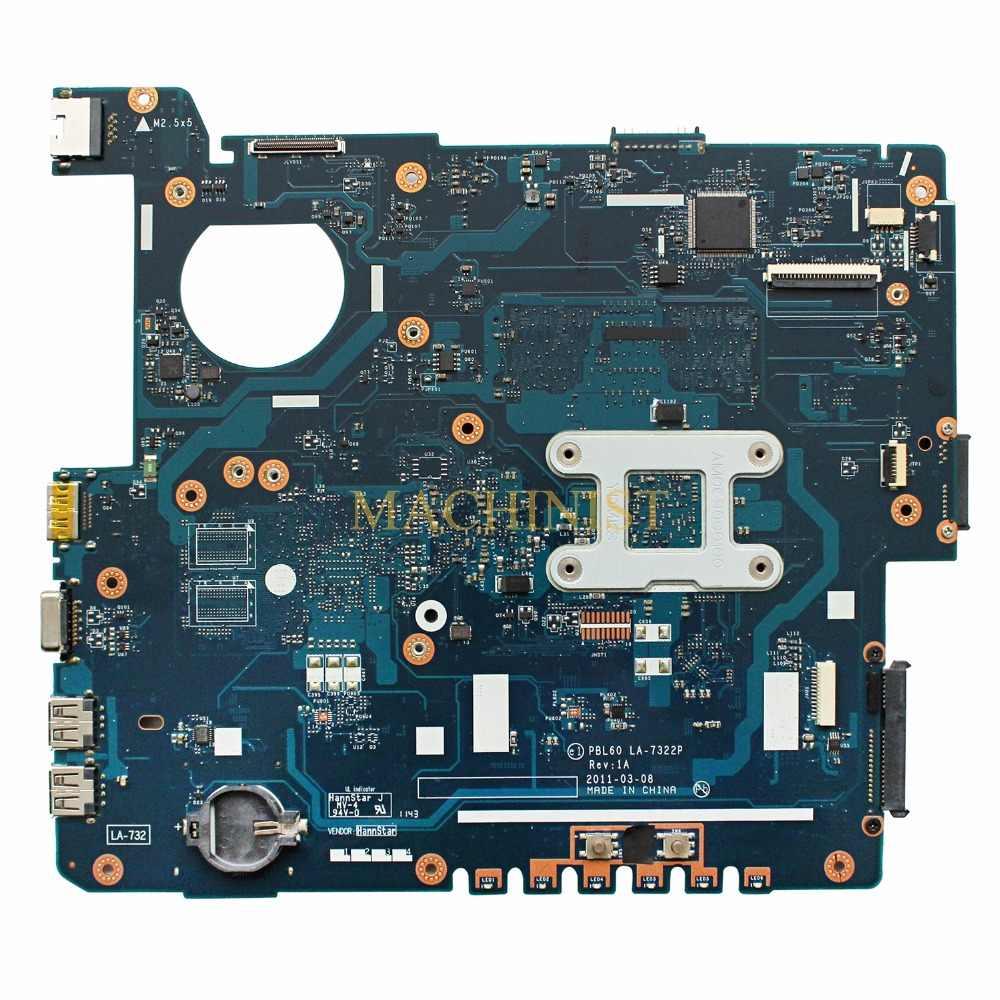 PBL60 LA-7322P asus K53U X53UX53B K53B X53BY X53BR K53BY ノートパソコンのマザーボード rev:1A PBL60 LA-7322P 送料無料