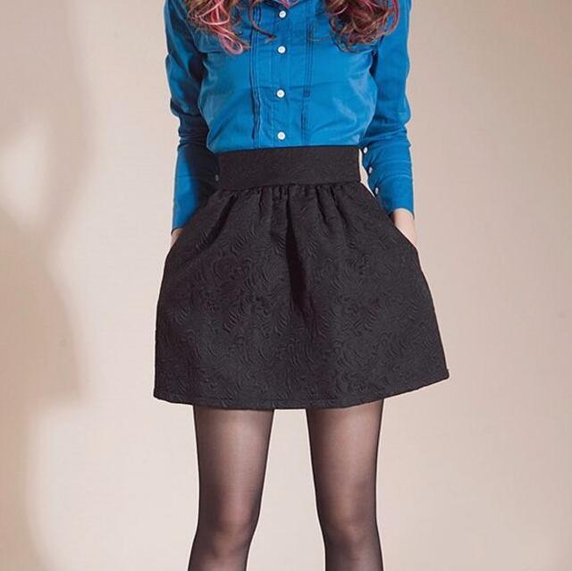 Jupe Courte Tutu Pour Femmes Jupe Midi Bouffante Vintage Taille Haute Slim Couleur Noire Printemps Ete 2019 Aliexpress