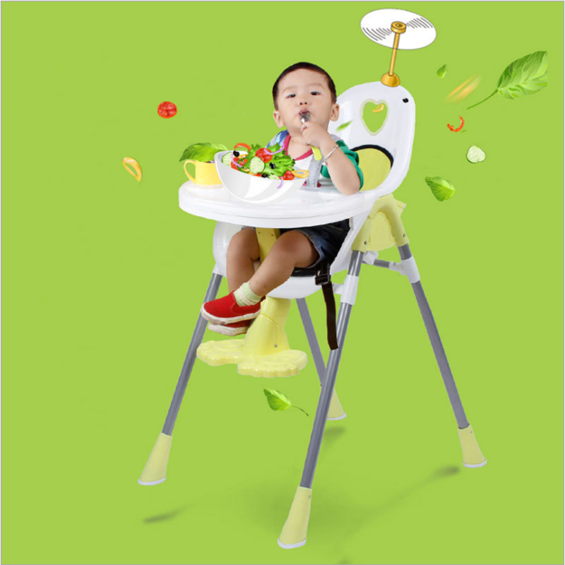 Baby Dining Chair Baby Chair Folding Multifunctional Portable Children Baby Eating Learning Chair Dining Table Seat Feeding Seat