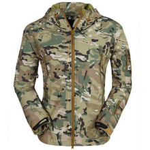 Army Camouflage Coat Military Jacket Waterproof Windbreaker Raincoat Hunt Clothes TAD Men Outerwear Jackets And Coats