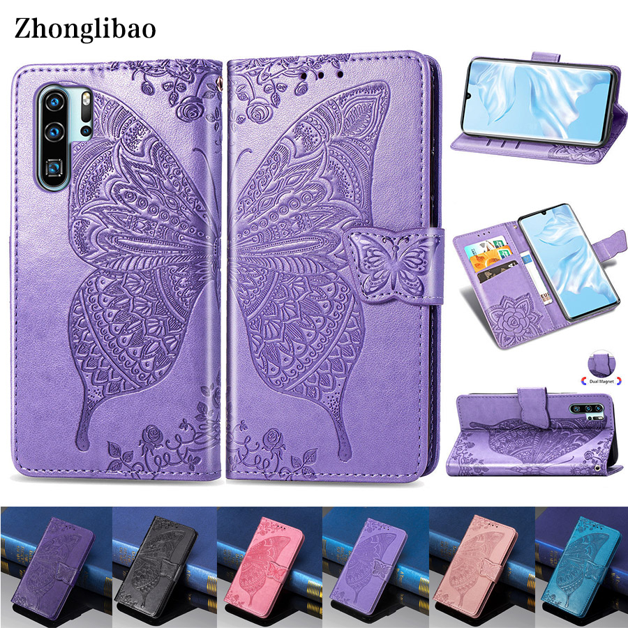 3D Leather Flip Case for <font><b>Huawei</b></font> P30 P20 Mate 20 10 Pro Lite P Smart Y9 Y7 Y6 Pro 2019 Y3 <font><b>Y5</b></font> <font><b>2018</b></font> Nova3i Card Holder Wallet Cover image