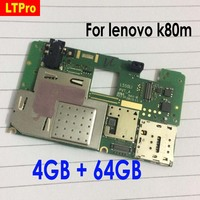 LTPro High Quality Used Working Mainboard For Lenovo K80m Phone Parts Unlocked Motherboard 4GB 64GB Version